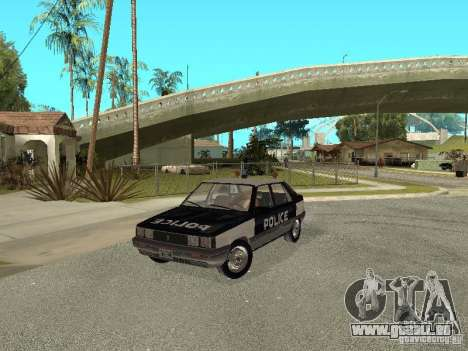 Renault 11 Police pour GTA San Andreas
