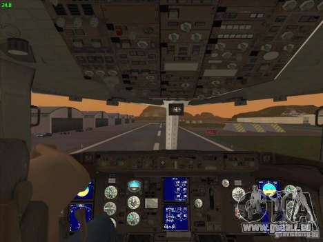 Boeing 767-300 LOT Polish Airlines für GTA San Andreas obere Ansicht