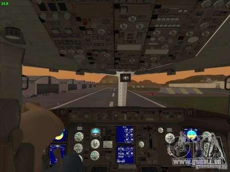 Boeing 767-300 LOT Polish Airlines pour GTA San Andreas vue de dessus