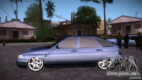 VAZ-2112 LT pour GTA San Andreas laissé vue