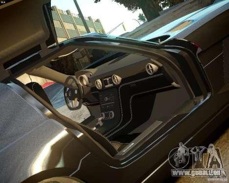 Mercedes SLS Extreme pour GTA 4 Vue arrière
