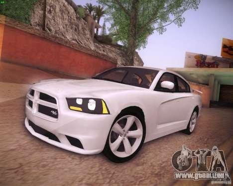 Dodge Charger 2011 v.2.0 pour GTA San Andreas laissé vue