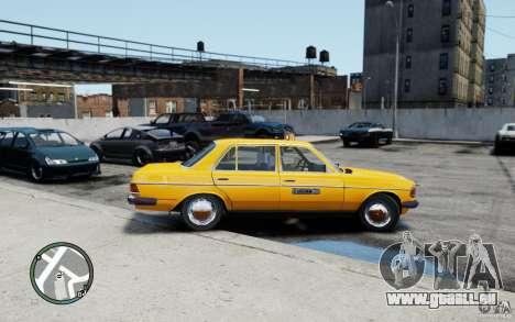 Mercedes-Benz 230 E Taxi pour GTA 4 est un droit