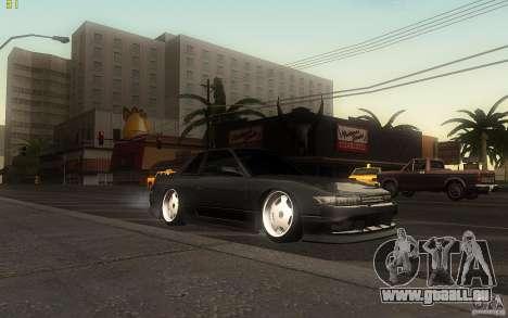 Nissan Silvia S13 Clean Edition pour GTA San Andreas laissé vue