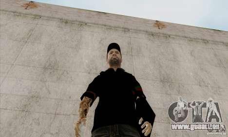 Peau sur Bmydrug pour GTA San Andreas deuxième écran