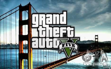 Écrans de démarrage dans le style de GTA 5 pour GTA San Andreas