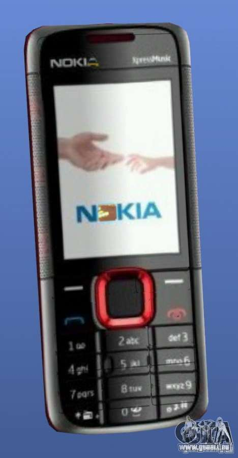 Handy Nokia 5130 Xpressmusic für GTA 4