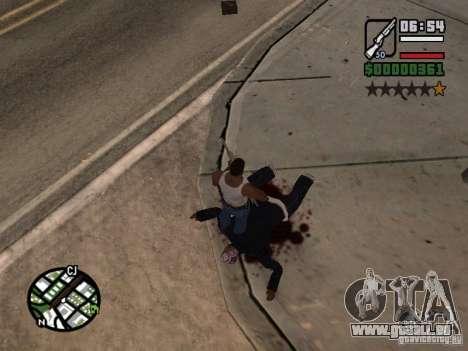 Neues Muster des Blutes für GTA San Andreas zweiten Screenshot