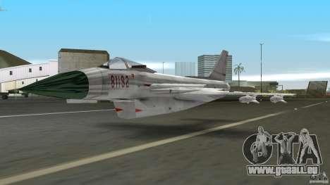 J-10 für GTA Vice City linke Ansicht