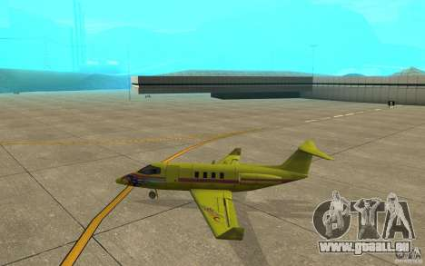 Shamal 1.0 Final für GTA San Andreas zurück linke Ansicht