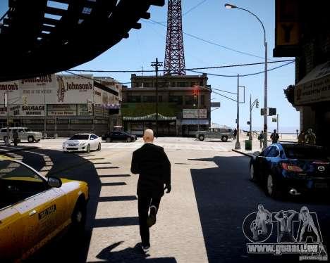 Hitman Blood Money Skin für GTA 4 Sekunden Bildschirm