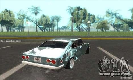 Mazda RX-2 2-door Coupe US pour GTA San Andreas laissé vue