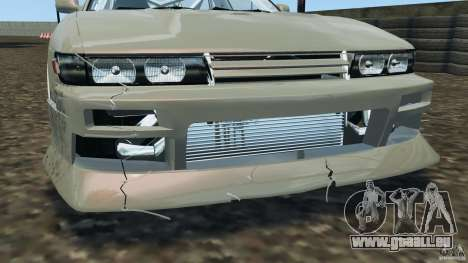 Nissan Silvia S13 DriftKorch [RIV] für GTA 4-Motor