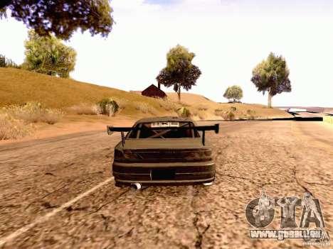 Nissan Silvia S15 By Blaze pour GTA San Andreas laissé vue
