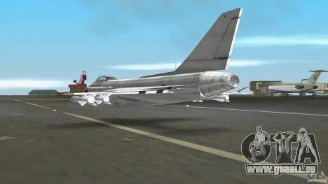 J-10 pour une vue GTA Vice City de la droite
