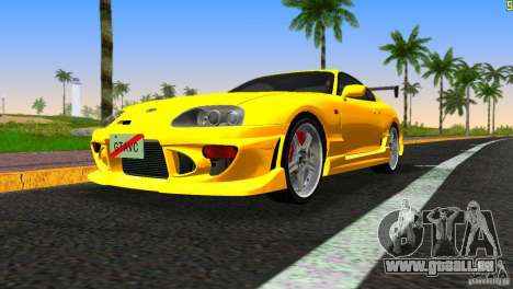Toyota Supra JZA80 C-West für GTA Vice City