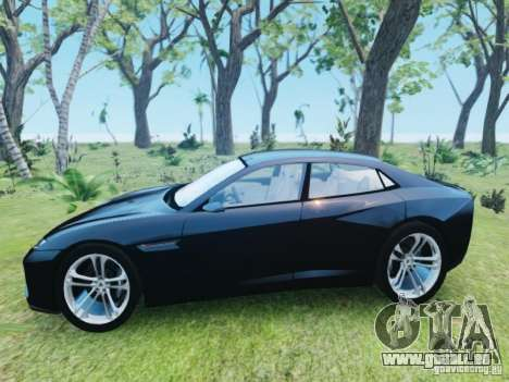 Lamborghini Estoque pour GTA 4 est une gauche