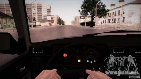 GAZ 31029 für GTA San Andreas Innenansicht