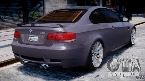 BMW M3 E92 stock pour le moteur de GTA 4