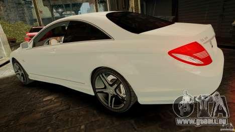 Mercedes-Benz CL65 AMG Stock für GTA 4 rechte Ansicht