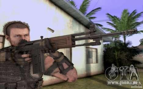 IMI GALIL AR pour GTA San Andreas deuxième écran