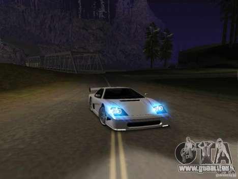 Azik Turismo pour GTA San Andreas laissé vue