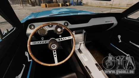 Ford Mustang Customs 1967 pour GTA 4 est un côté