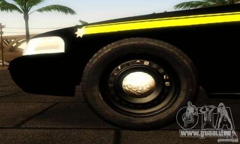 Ford Crown Victoria Montana Police für GTA San Andreas rechten Ansicht