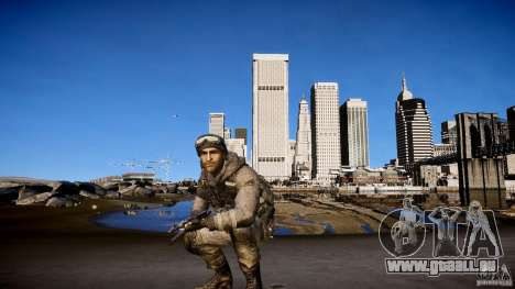 Prix capitaine de COD MW3 pour GTA 4 septième écran