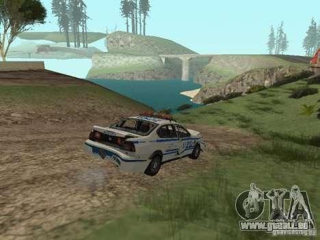 Police de GTA 4 pour GTA San Andreas vue de côté