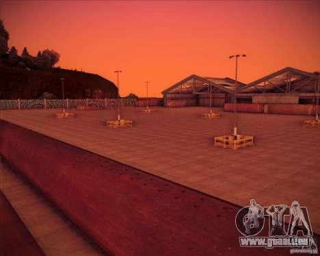 Portland pour GTA San Andreas deuxième écran