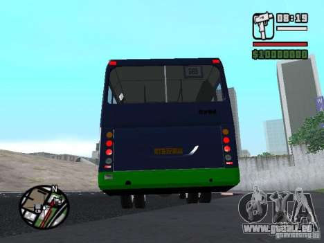 LIAZ 5256.25-II für GTA San Andreas zurück linke Ansicht