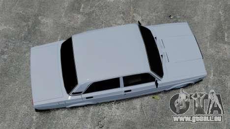 VAZ-2107 2011 DAG für GTA 4 rechte Ansicht