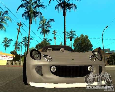 Lotus Exige pour GTA San Andreas vue de droite