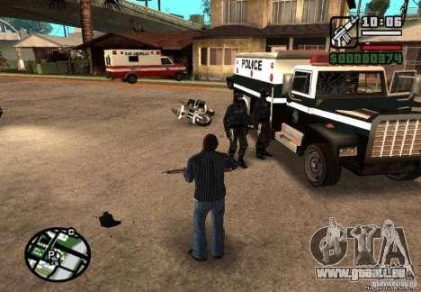 Gewonnene Freiheit von Polizei 1.0 für GTA San Andreas zweiten Screenshot