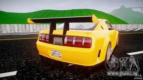 Ford Mustang GT-R pour GTA 4 est un droit