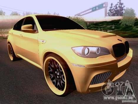 BMW X6M Hamann für GTA San Andreas linke Ansicht