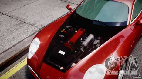 Alfa Romeo 8C Competizione pour GTA 4 Vue arrière