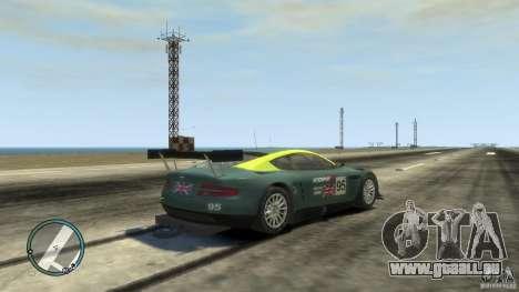 Aston Martin DBR9 für GTA 4 rechte Ansicht