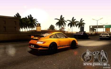 Porsche 911 GT3 RS pour GTA San Andreas vue de droite