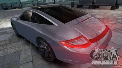 Porsche Targa 4S 2009 für GTA 4 linke Ansicht