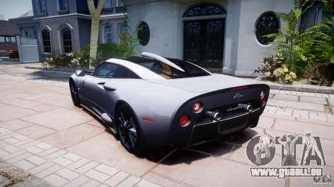 Spyker C8 Aileron v1.0 für GTA 4 Unteransicht
