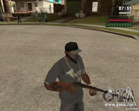 Call of Juarez Bound in Blood Weapon Pack pour GTA San Andreas troisième écran