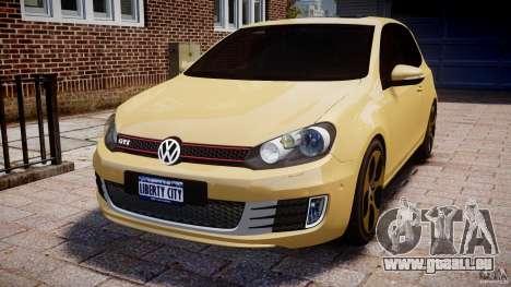 Volkswagen Golf GTI Mk6 2010 pour GTA 4