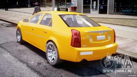 Cadillac CTS Taxi pour GTA 4 est un côté