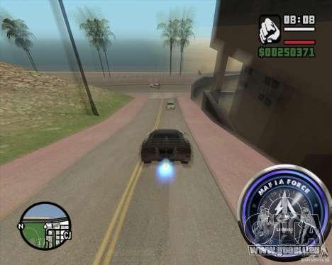 Tacho-2 für GTA San Andreas dritten Screenshot