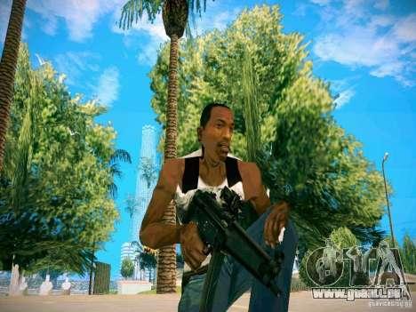 Armes Pack HD pour GTA San Andreas cinquième écran