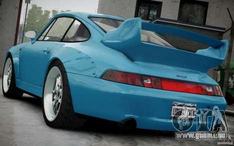 Porsche 911(993) GT2 1995 pour GTA 4 est un côté