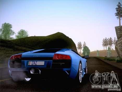 Lamborghini Murcielago LP640 für GTA San Andreas linke Ansicht
