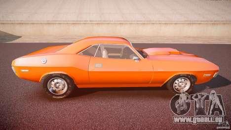 Dodge Challenger v1.0 1970 pour GTA 4 est un côté